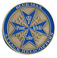 Blue Max Challenge Coin